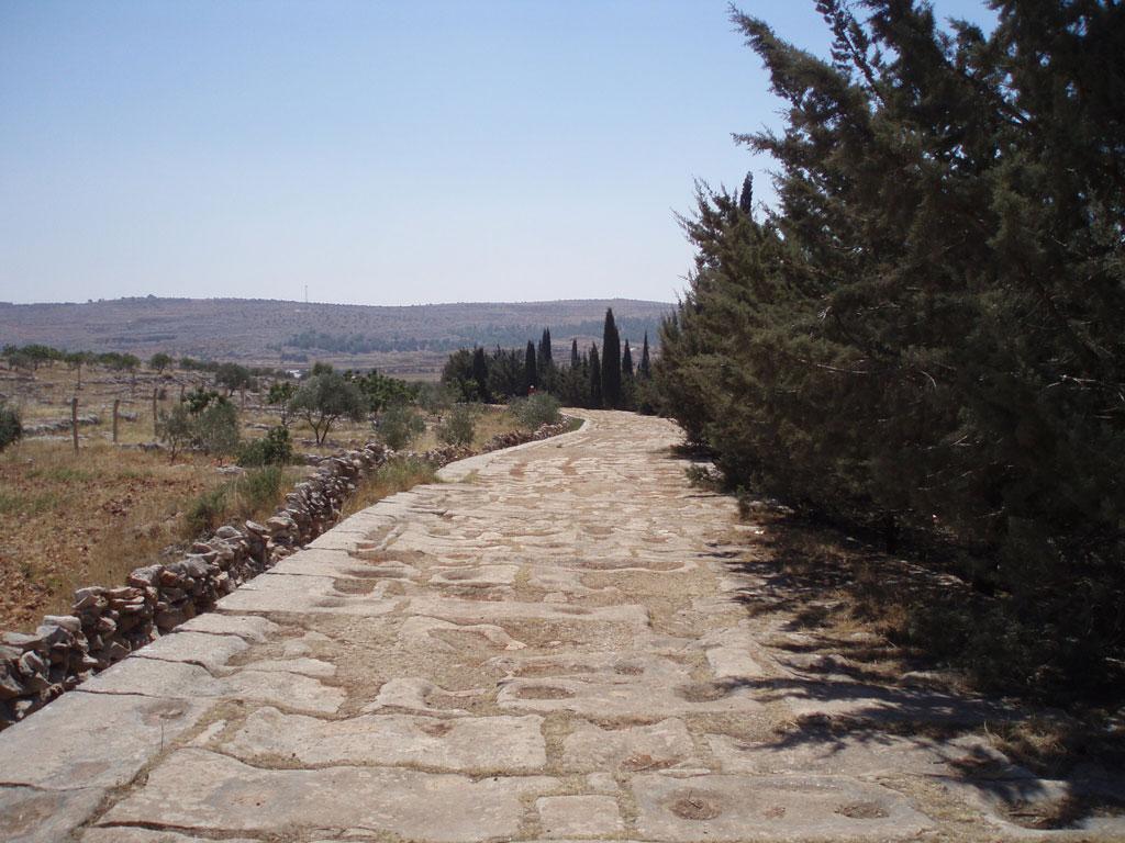 road in damascus